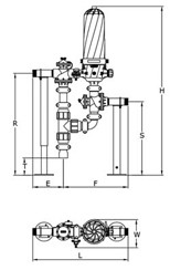 Чертеж дискового фильтра HF
